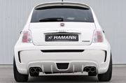 HAMANN FIAT500 REAR BUMPER UNIT