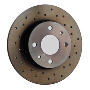 MAGNETI MARELLI Drilled Brake Disks by Brembo