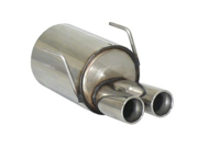 RAGAZZON Stainless steel Rear Silencer for 1.2 (51kW) 2015>>